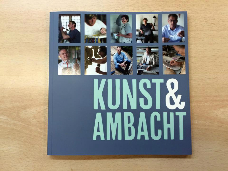 Erik Winkler from Schitterend featured in the Dutch Unesco book Arts and Crafts