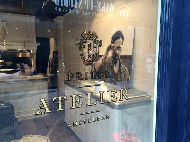 Glasvergulden voor Sergio Herman Frites Atelier Amsterdam