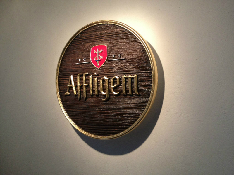 3D Sign for Affligem beer