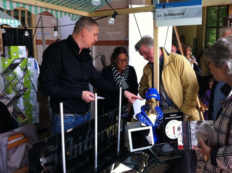 Erfgoedfair 2012 in Apeldoorn een succes
