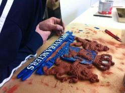 Schitterend schildert gietijzeren hofleveranciers bord