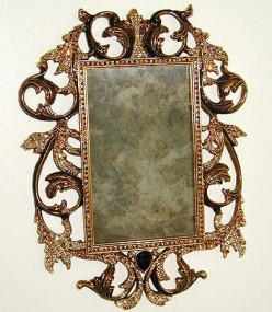 custom antique mirrors mirror resilvering silvered glass - 391×450