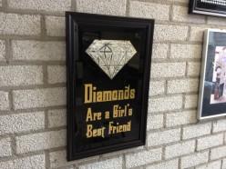 Diamonds are a girl's best friend by Schitterend